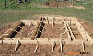 Песок для подушки фундамента