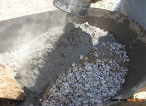 Доставка щебня для бетона